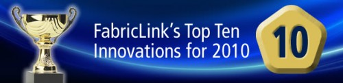 FabricLink's Ton 10 Innovations for 2010