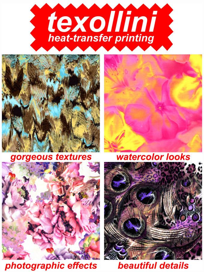 Texollini Heat-Transfer Printing
